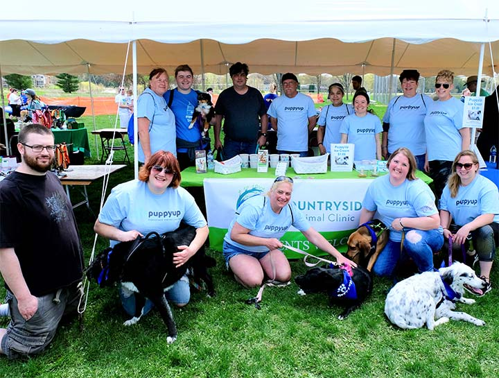 CAC Proudly Participated in the PuppyUp Madison Walk